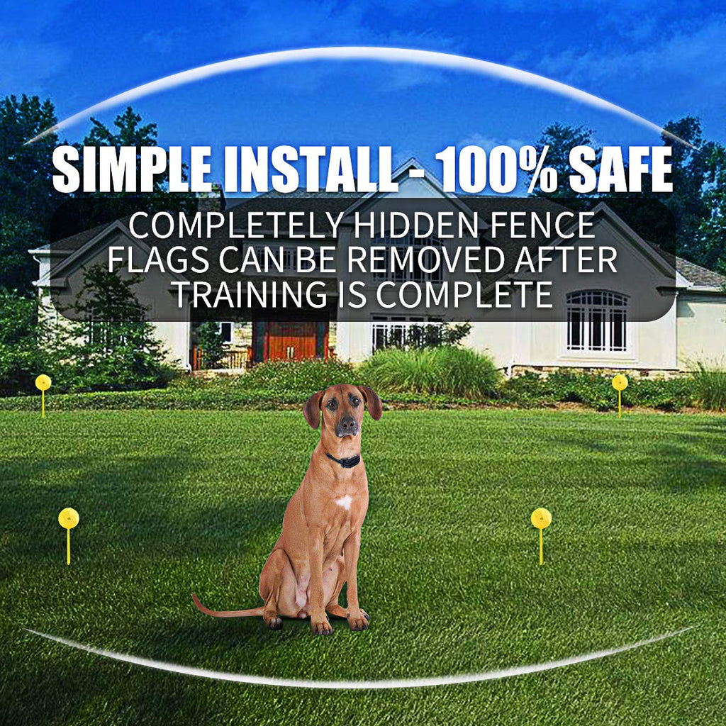 Wireless Dog Fence Invisible In Ground Fence System