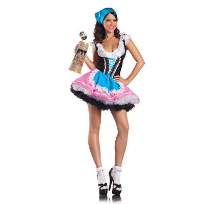 German Austrian Beer Girl Adult Costume Halloween 1120