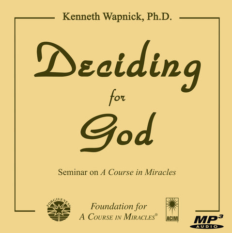 Deciding for God [MP3]