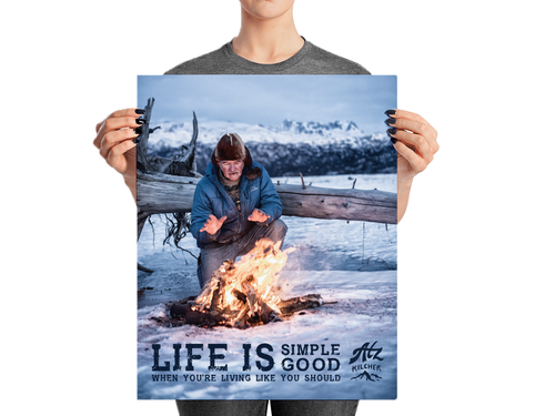 Life is Simple, Life is Good Poster