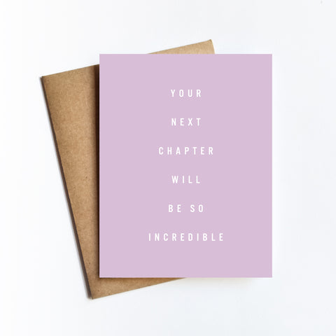 Next Chapter - NOTECARD