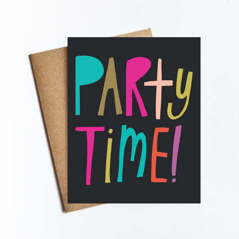 Party Time - NOTECARD