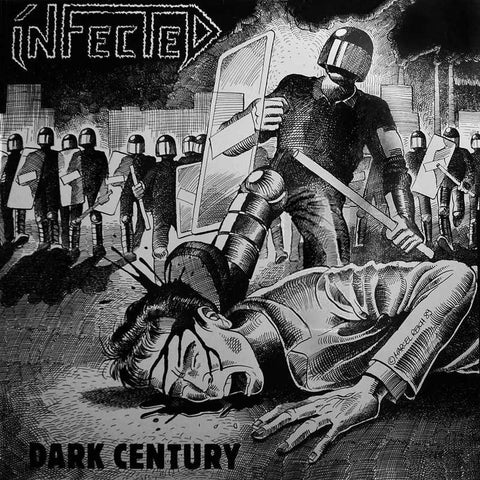 "Infected ""Dark Century"" LP"