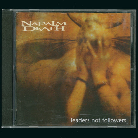 "Napalm Death ""Leaders Not Followers"" CD"