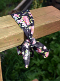 Floral Knotted Headband