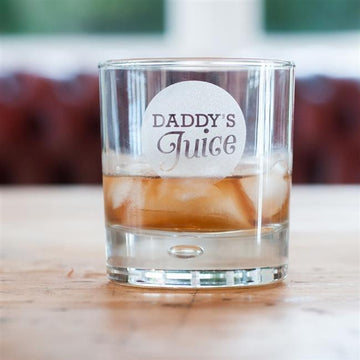 Daddy's Juice Whiskey Glass