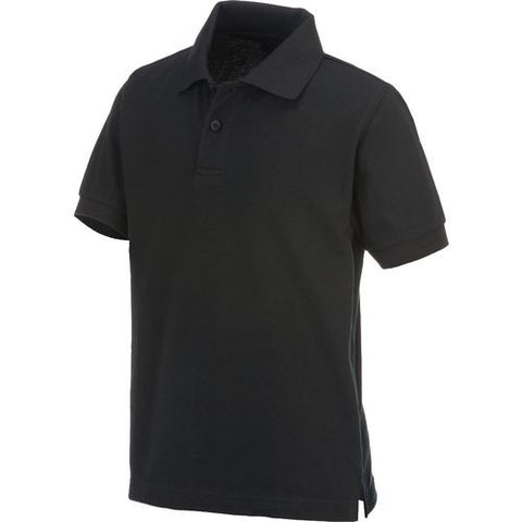 High School Only (Grade 9-12) Boys short sleeve Austin Trading Co. pique polo w/GDA logo - Black