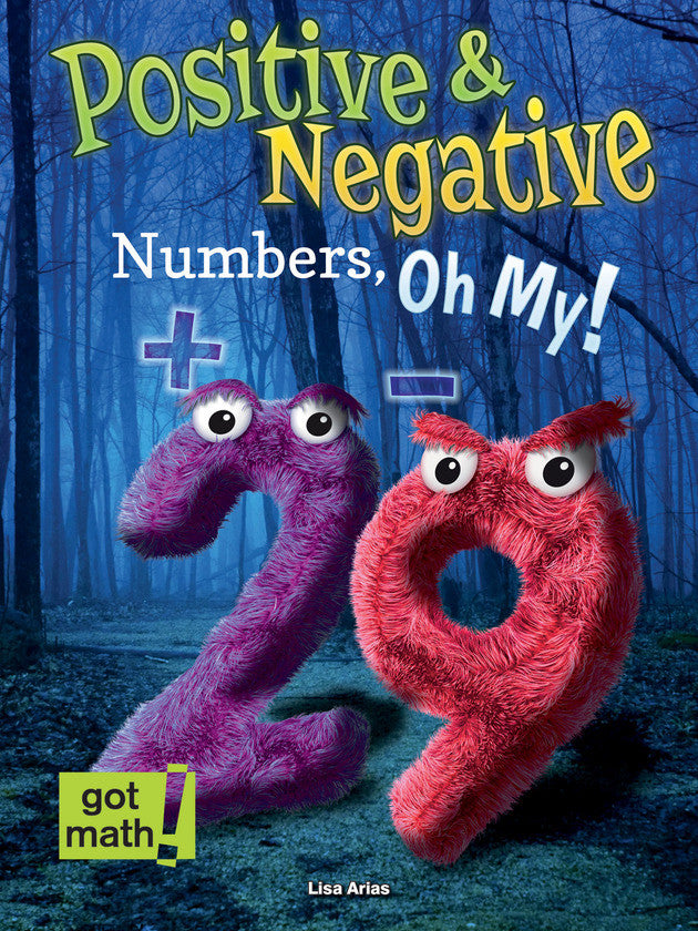 2015 - Positive and Negative Numbers, Oh My! (Hardback)
