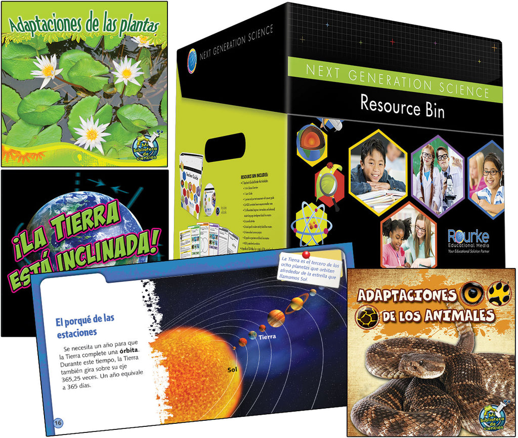 Next Generation Resource Bin - First Grade Spanish