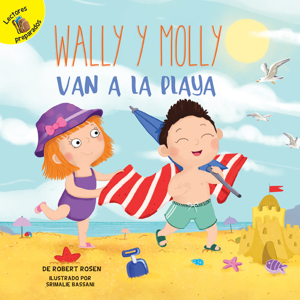 2018 - Wally y Molly van a la playa (Wally and Molly Go to the Beach) (Paperback)