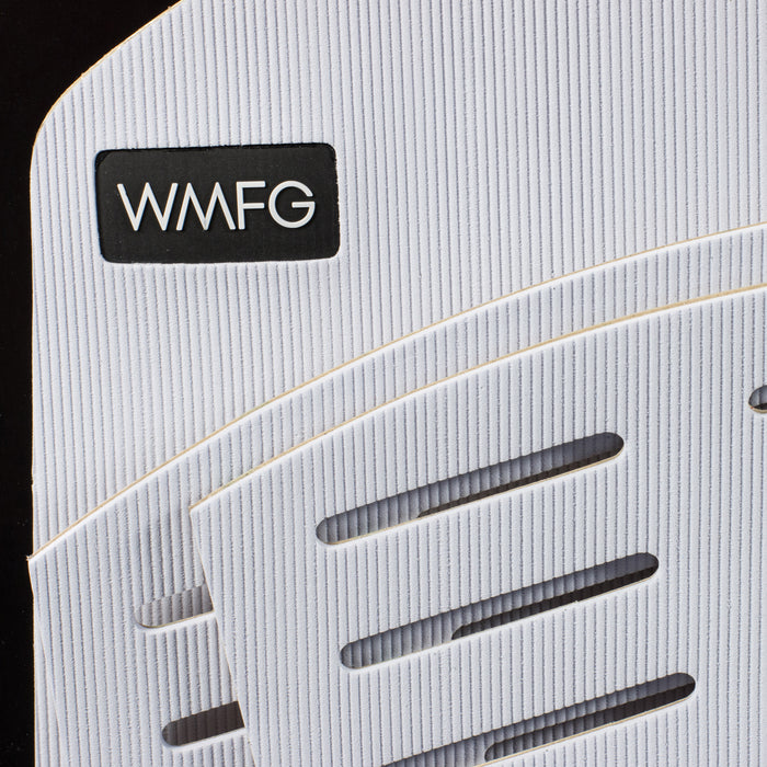 WMFG Stubby 3.0 Six Pack Grooved Traction Pad-White