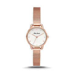Mon Amie Opportunity Rose Gold-Tone Stainless Steel Watch