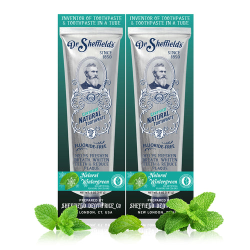 Dr. Sheffield's Certified Natural Toothpaste (Wintergreen)