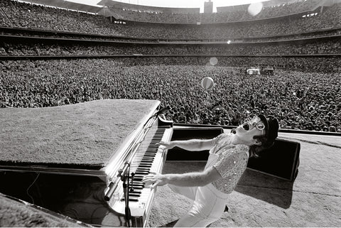 Elton John, Los Angeles, CA, 1975