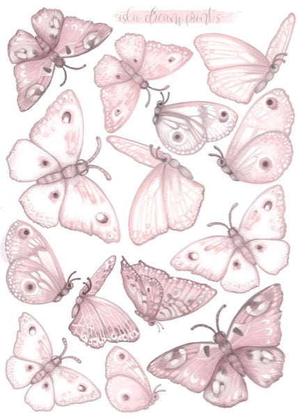 Isla Dream Prints Butterflies 'Fairy Magic' Wall Decals