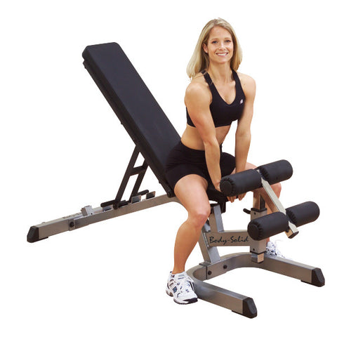 BODY SOLID COMMERCIAL ADJUSTABLE BENCH - GFID71