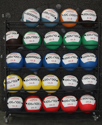 5 TIER MEDICINE BALL RACK