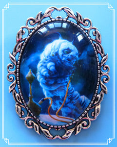 Absolem the Blue Caterpillar is from the Tim Burton Alice in Wonderland film.