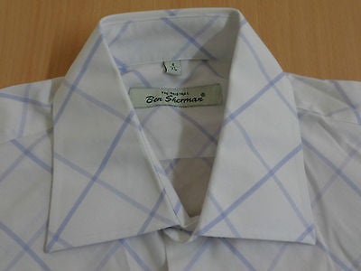 Ben Sherman white short sleeves, xl mens, size 4 - S1285
