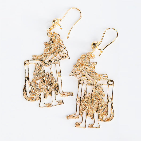 Rama Gold Plated Earrings