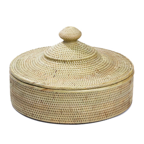 Rinago Compartment Storage Basket - Natural