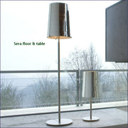 Sera F1 glass table lamp in 5 shade colours from Prandina