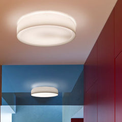 Mint white glass wall or ceiling light from Prandina