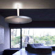 Equilibre Halo C3 painted metal ceiling light from Prandina