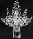 Ninfea Swarovski Crystal Wall Light