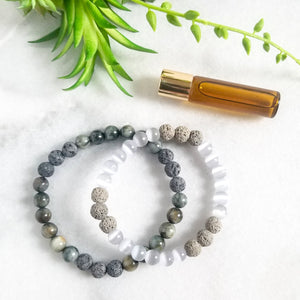 In Your Eyes - Couples Diffuser Bracelet Duo