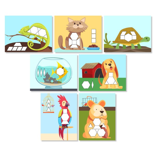 pet pattern block mats
