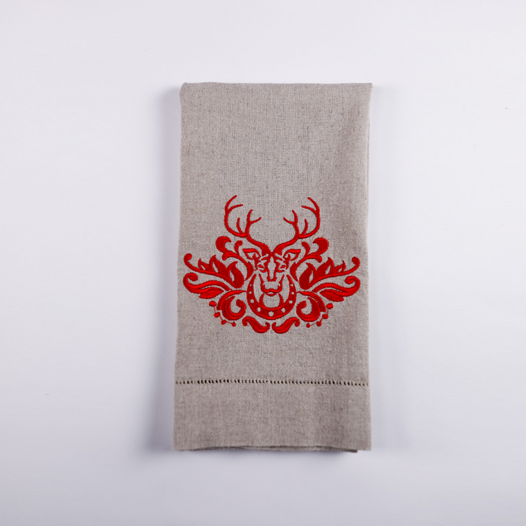 Stag Towel