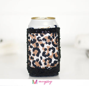 Sequin Can Cooler