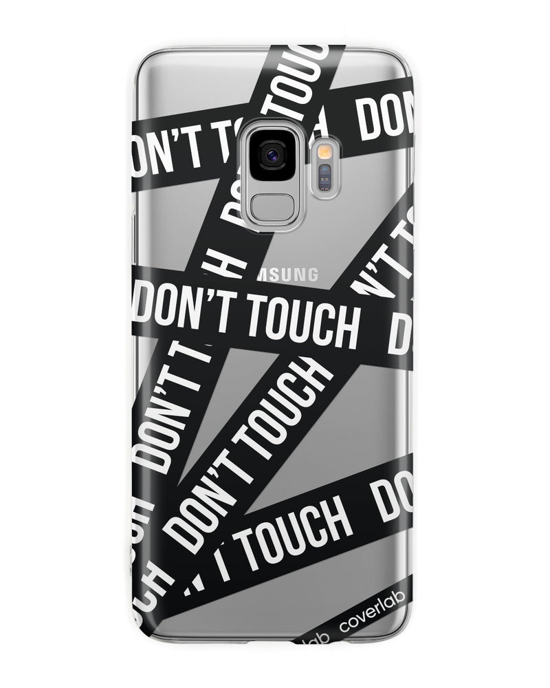 Dont'Touch Nero Samsung Case - Coverlab