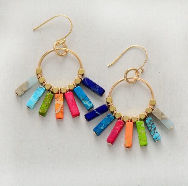 The Chakra Power Earrings