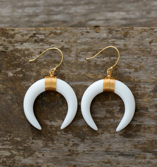 Magic Half Moon Earrings