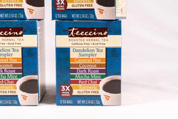 Teeccino - 4 Pack Dandelion Roasted Herbal Tea Sampler Box
