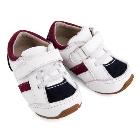 Trainers White/Navy/Red-Lilypond Kids