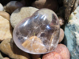 Polished Four Hearts Crystals & Two XL Gallets x 6 from Madagascar