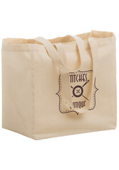 Cotton Canvas Grocery Tote Bag - CN12813