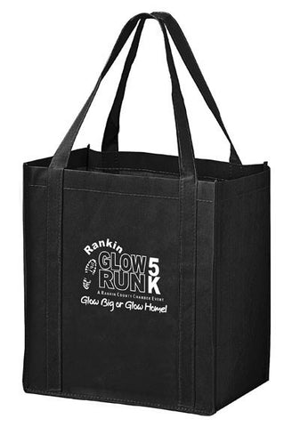 Recession Buster Non Woven Grocery Tote Bag with Poly Board Insert in Bulk Wholesale - RB12813