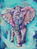 Elephant Calf Painting