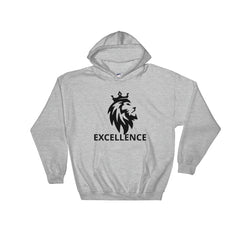 Mens Excellence Graphic Hooded Sweatshirt.