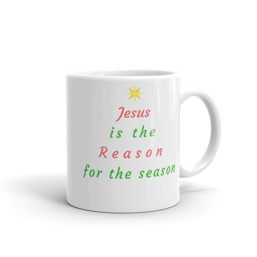 "Mug: ""Jesus is the Reason for the Season"""