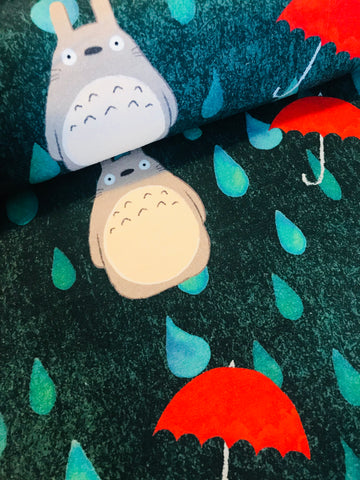 International Totoro Fabric (Green)