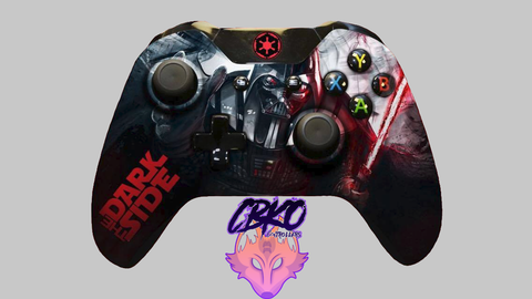 Darth vader fan art xbox one controller