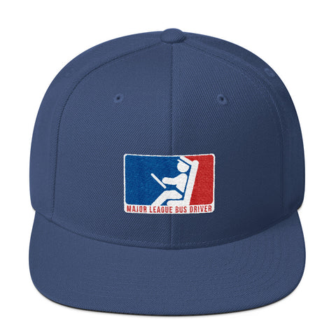Image of Major League Bus Driver Wool Blend Snapback