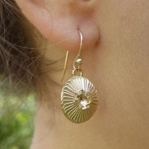 Coccolithus Earrings Earrings [Ontogenie Science Jewelry]