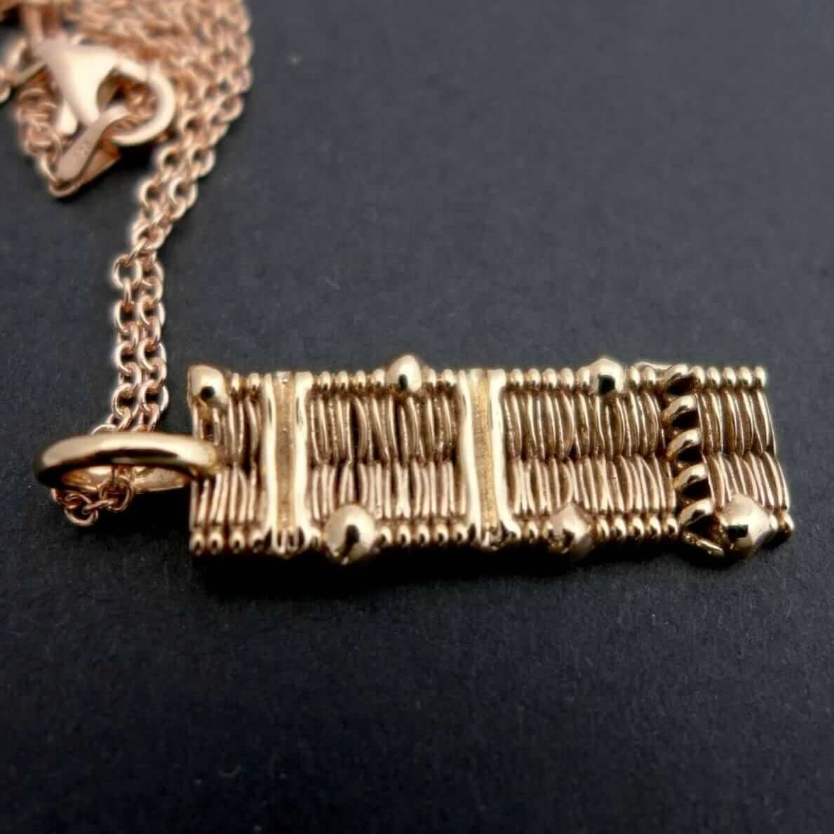 Cell Membrane Pendant Pendant [Ontogenie Science Jewelry] bronze 40 cm/16 in