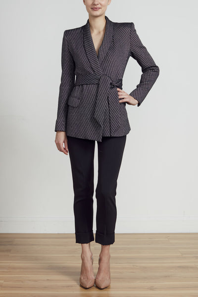 ROYAL WRAP RIDING JACKET- TWEED